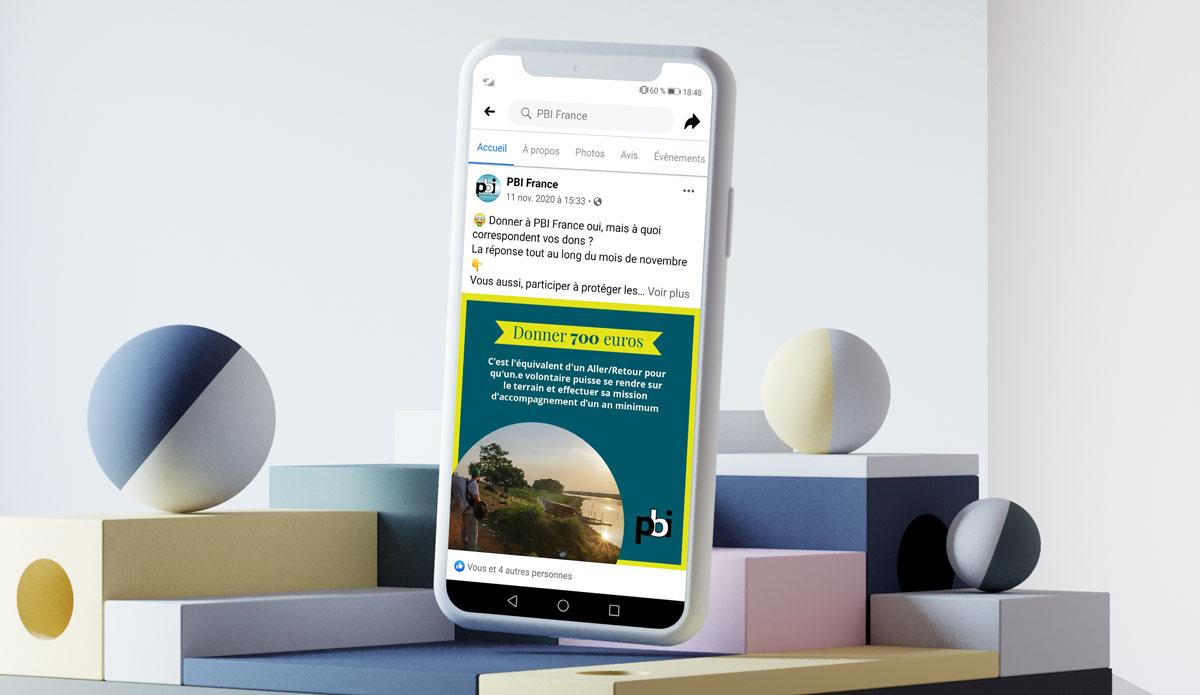 PBI - Campagne de dons réseaux sociaux