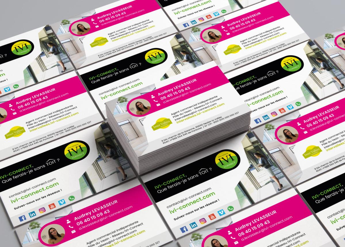 IVI-Connect - Communication print / Cartes de visite