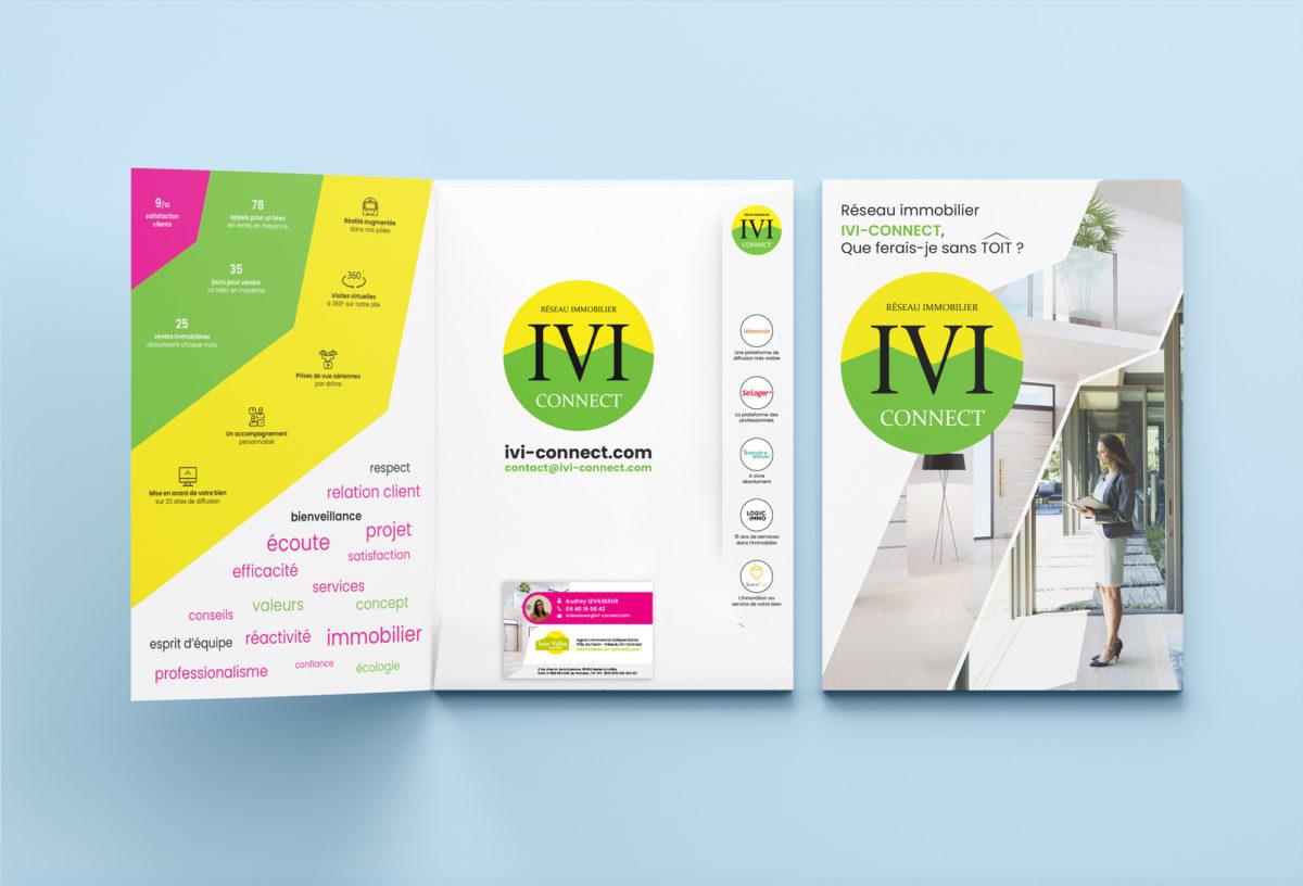 IVI-Connect - Communication print / pochette